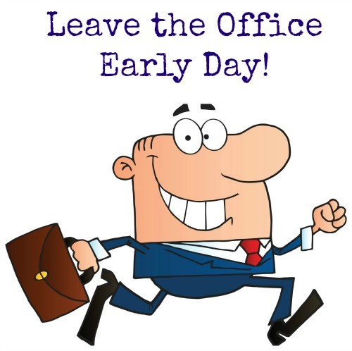 Work-Life Series 1/3: Leave the Office Early Day