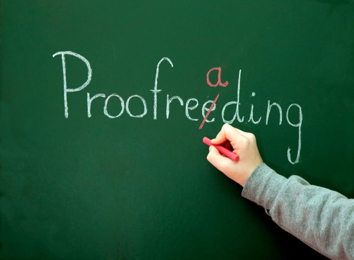 Feature image for The Value of Proofreading