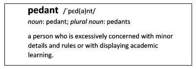 linguistic-pedants
