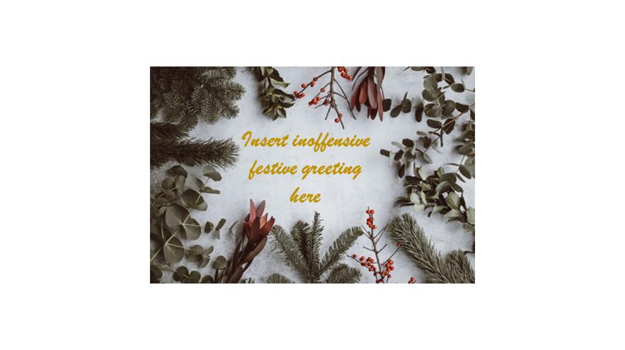 FestiveGreetingControversy